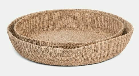 Jared Shallow Basket - Large