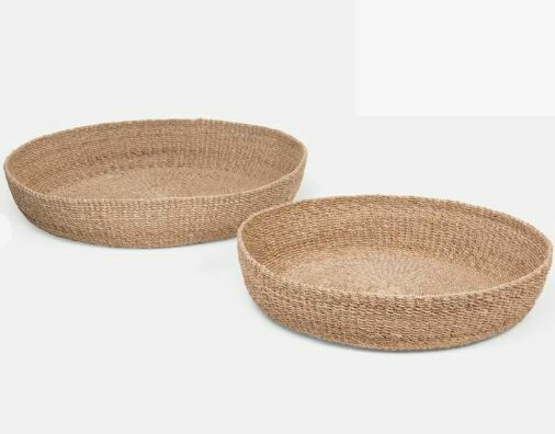 Jared Shallow Basket - Small