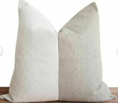 CB005 Pillow - White/Oatmeal 23