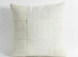 """PS001 Hemp Pillow - Patchwork 24"""" x 24"""""""