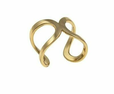 CA021 Gild Infinity Ring