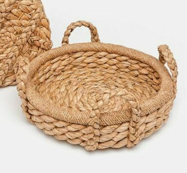 Knotted Woven Tray - Small