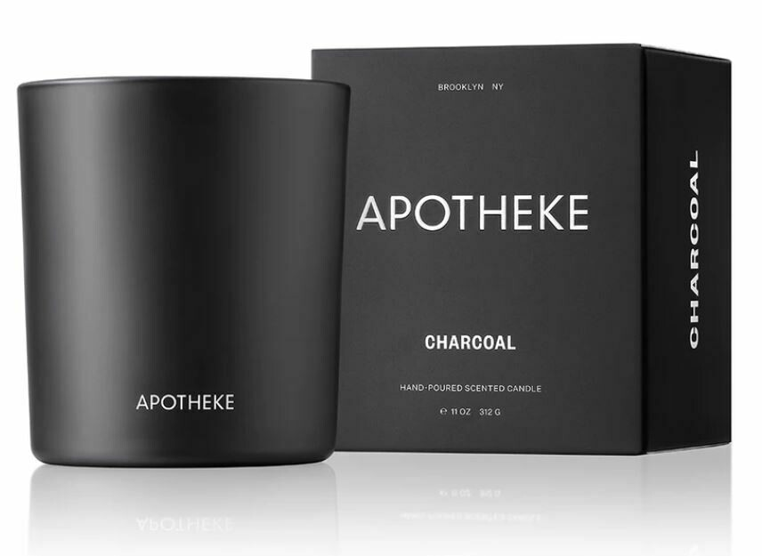 AK018 Charcoal Candle