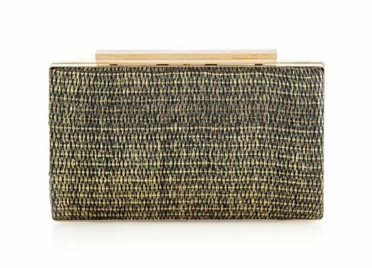 SH271 Mina Clutch  - Black