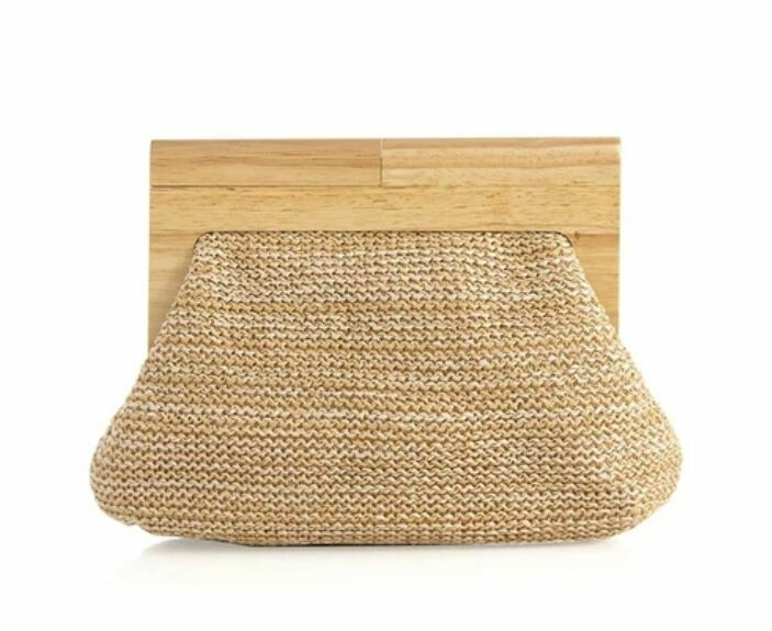 SH270 Nella Clutch - Natural