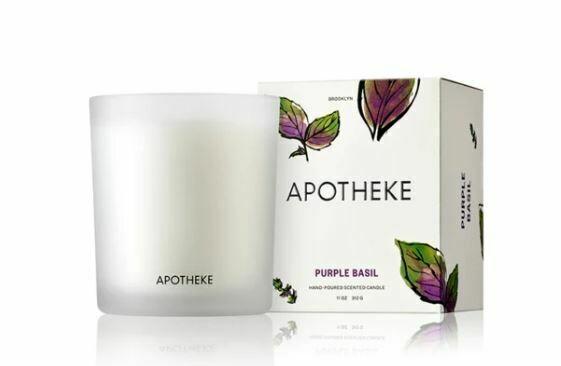 AK032 Purple Basil Candle