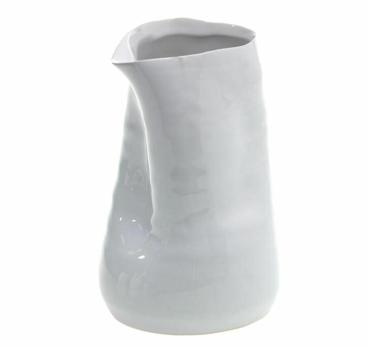 """AR127 Freeform Vase - White 4"""" x 6"""""""