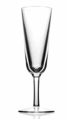 Champagne Flutes in Clear Acrylic