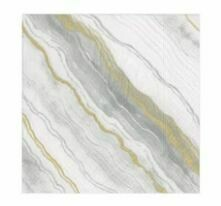 CR017 Marble Grey Cocktail Napkins