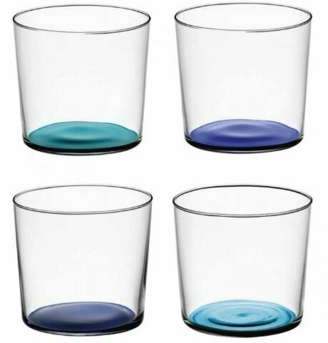 Scandi Small Tumblers - Set/4 - Blues