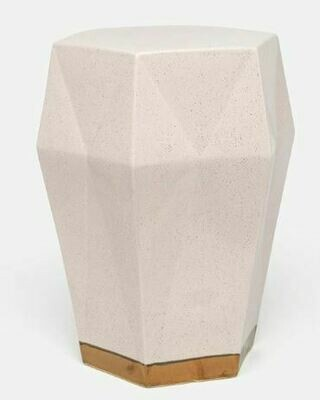 MG005 Blush Ceramic Stool/Accent Table