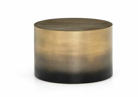 Camille Ombre Bunching Table - Brass