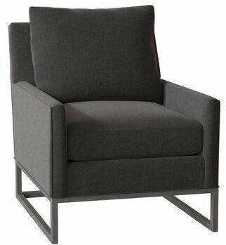 CE002 Joaquin Occasional Chair with Metal Base
