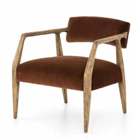 Tyler Arm Chair - Auburn