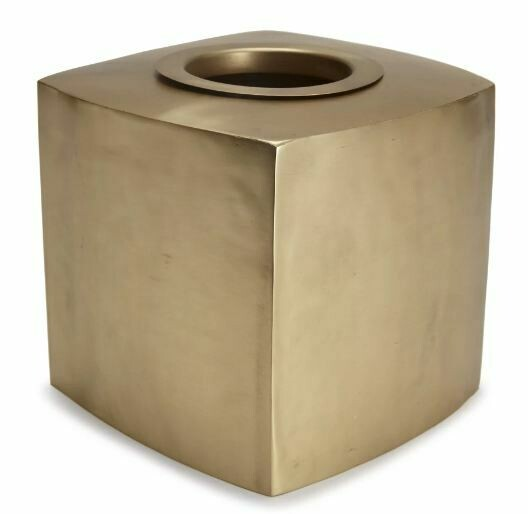 Matte Gold Tissue Holder
