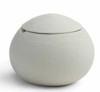KX008 White Porcelain Cotton Jar
