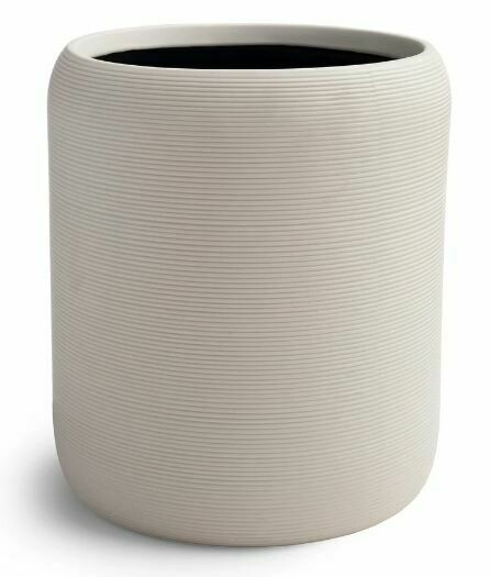 KX011 White Porcelain Waste Basket
