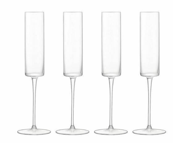 Scandi Champagne Flute