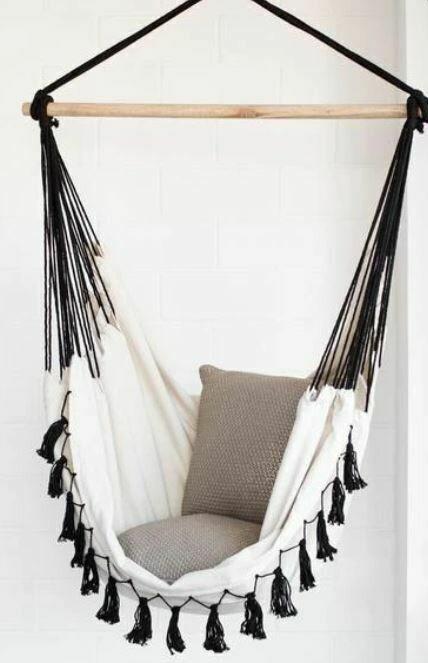 ID004 Cream Hammock Chair