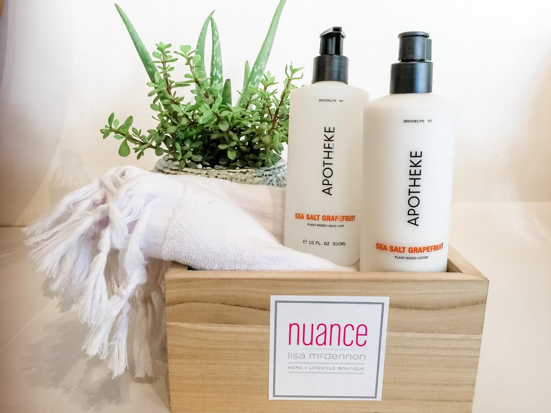 Apotheke Soap and Lotion Gift Set