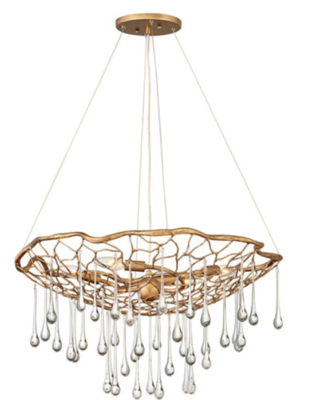 Laguna 4-light Medium Single Tier Chandelier