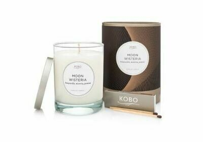 Moon Wisteria Candle