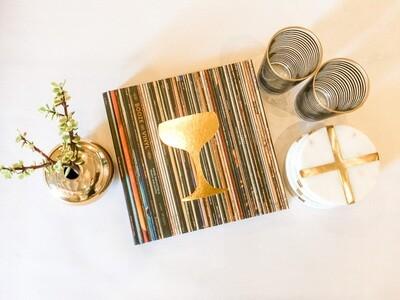 Booze and Vinyl Gift Set