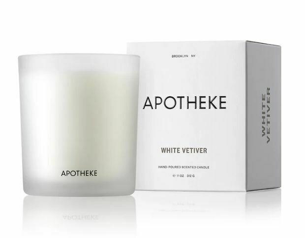 AK027 White Vetiver Candle