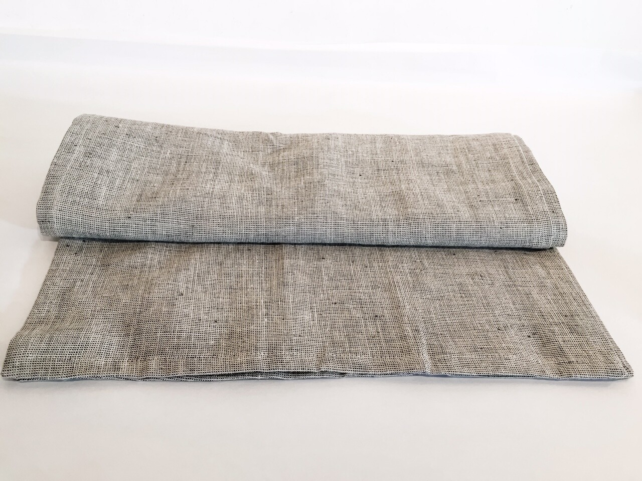 "SO044 Heavyweight Linen Table Runner - Natural	72"" L"