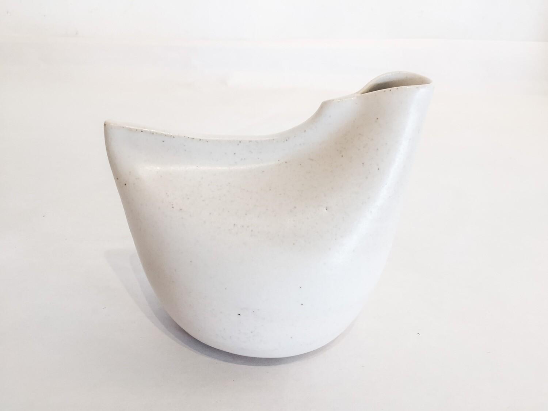 Bird Vase - Small- White