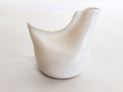 Tiny White Bird Vase