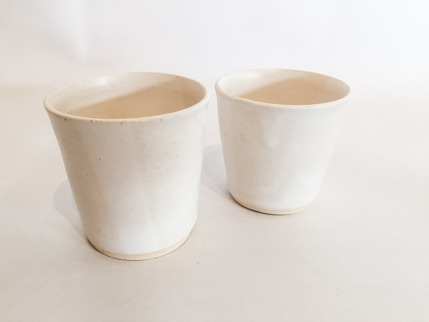 Espresso Cups Off White