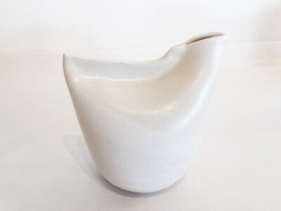 ES013 Bird Vase - Med - White