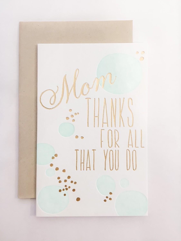 SM030 Mom, For All You Do