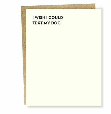SG001 Dog Text