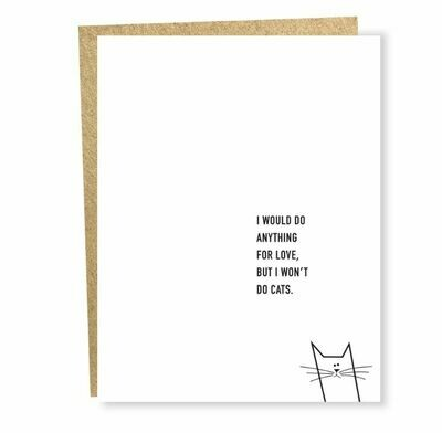 SG048 Won't Do Cats