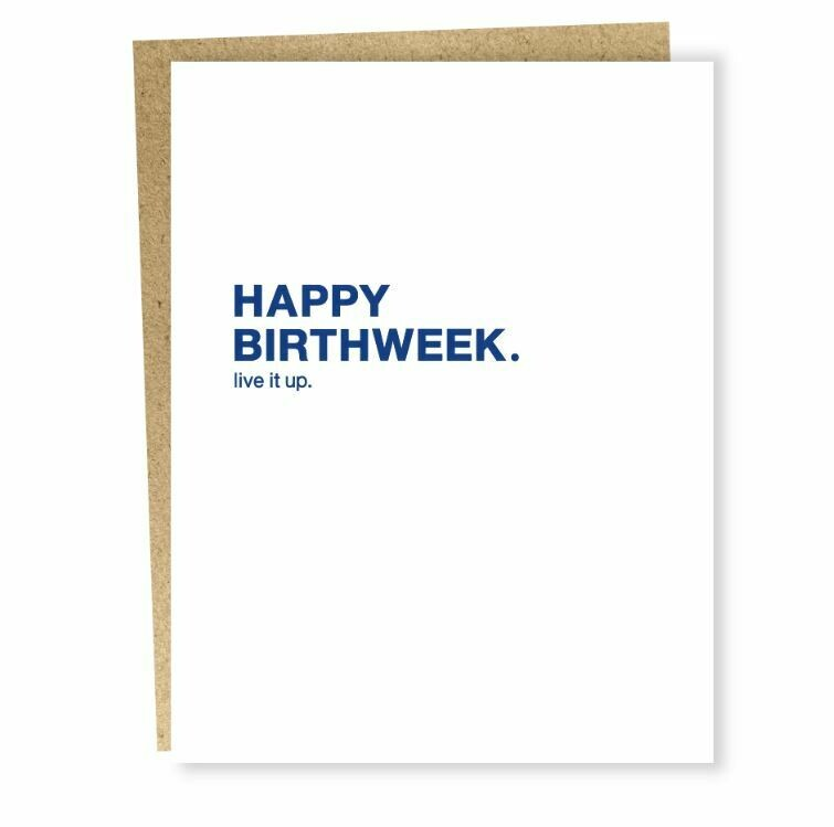 SG066 Birthweek Card