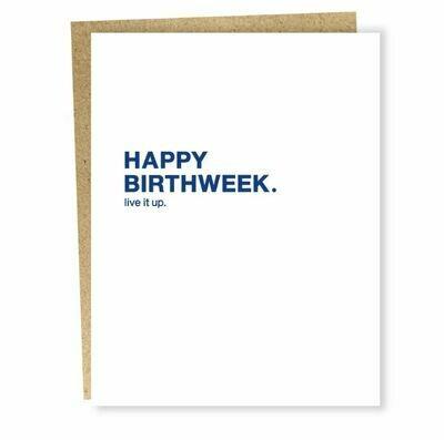 SG066 Birthweek Card