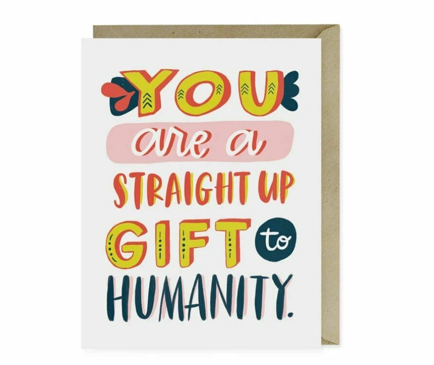 EM006 Gift to Humanity Card