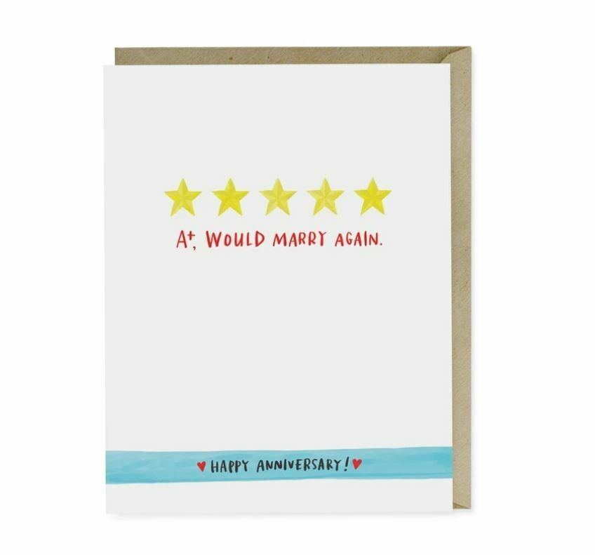 EM012 Marry Again Anniversary Card