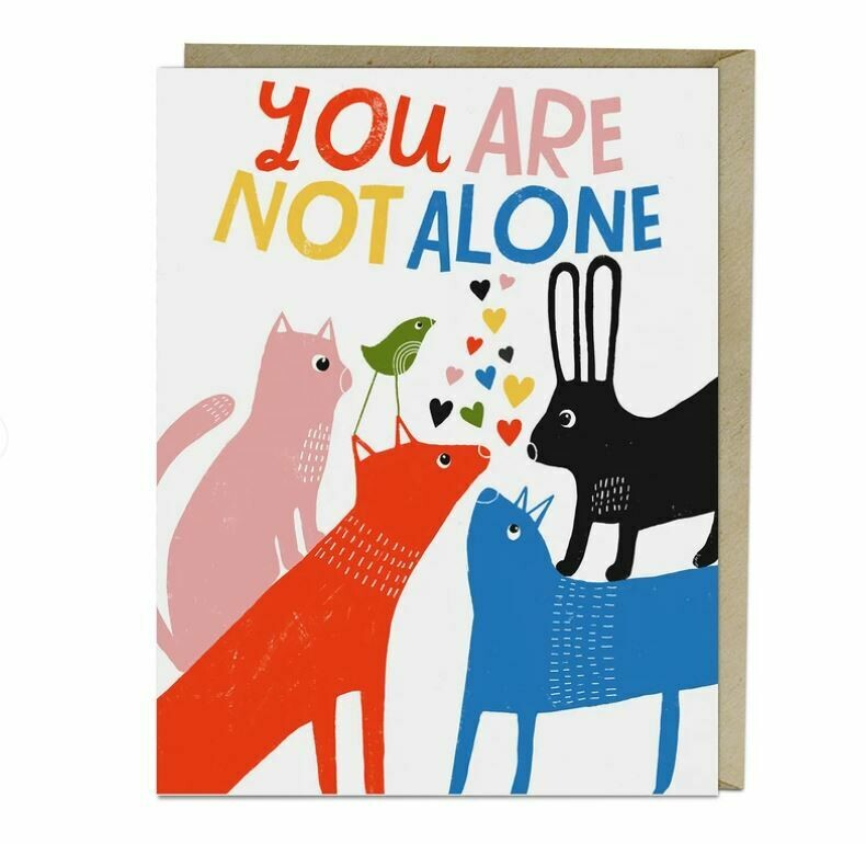 EM005 You are not Alone Card