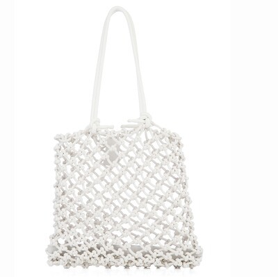 Knotted Tote in Natural