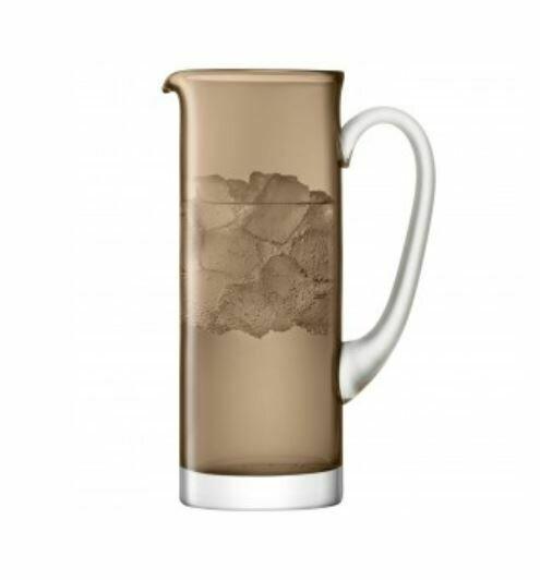 LS040 Scandi Glass  Jug - Coffee