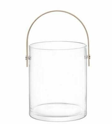 LS007 Large Glass Bucket Ash Handle