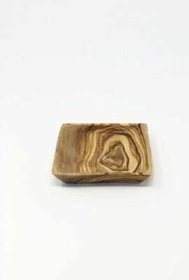 SL040 Square Olive Wood  Dish 4
