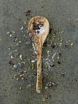 SL044 Olive Wood Spoon - Large