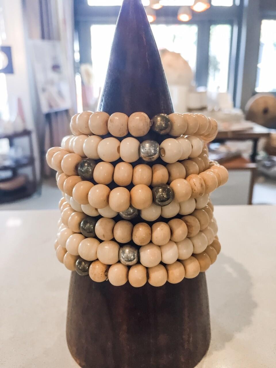 Caramel Beaded Bracelet