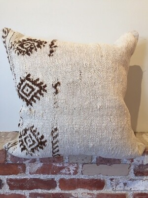 PS002 Hemp Pillow - Patterned 24