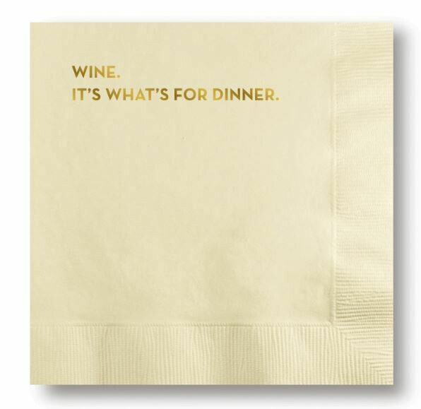 SG057 Wine Cocktail Napkin