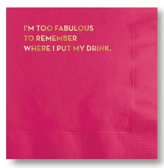 SG058 Fabulous Cocktail Napkin